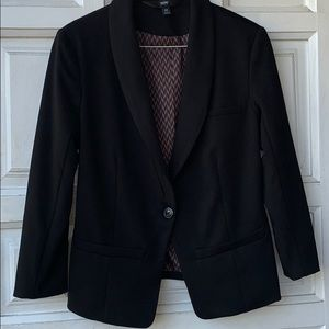 Mossino, solid Black jacket